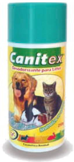 CANITEX DESODORIZANTE EM PO PARA LITTER