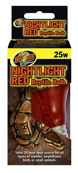 ZOO MED NIGHTLIGHT RED REPTILE